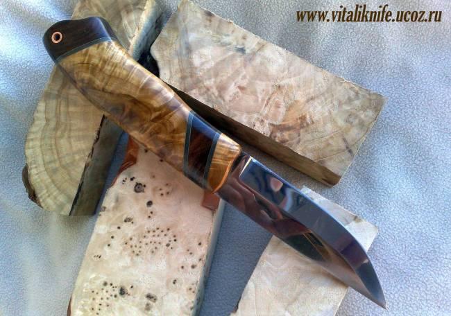 Как сделать нож клапана