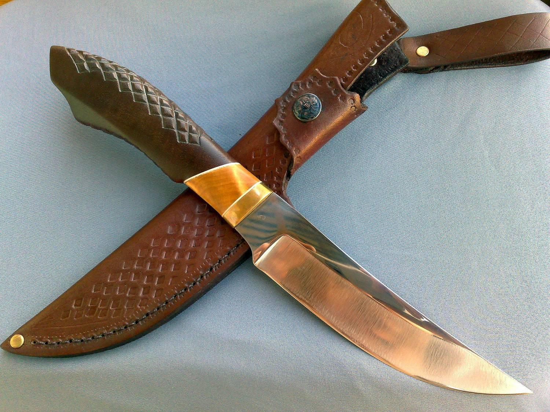 Нож своими руками сталь